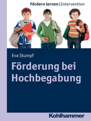 cover image of Förderung bei Hochbegabung