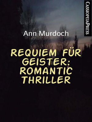 cover image of Requiem für Geister
