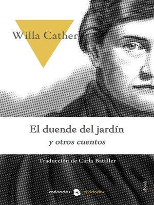 cover image of El duende del jardín y otros cuentos