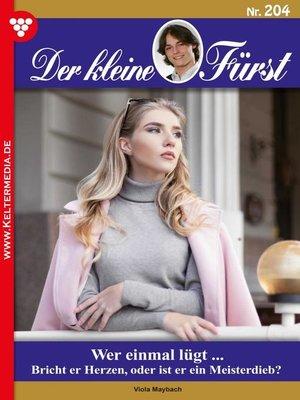 cover image of Der kleine Fürst 204 – Adelsroman