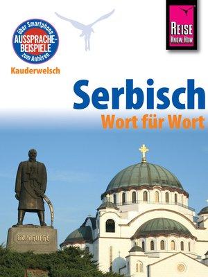 cover image of Serbisch--Wort für Wort