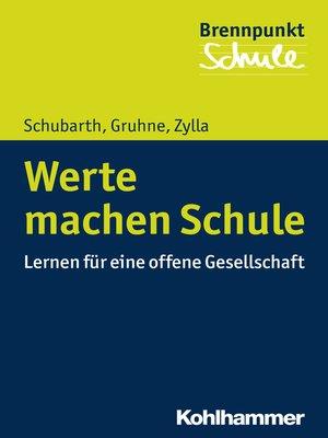 cover image of Werte machen Schule