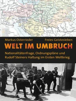 cover image of Welt im Umbruch