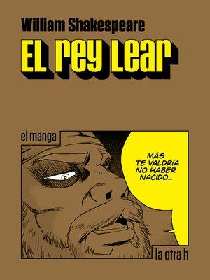 cover image of El rey Lear