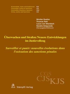 cover image of Überwachen und Strafen