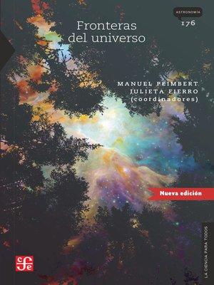 cover image of Fronteras del Universo