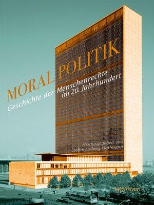 cover image of Moralpolitik