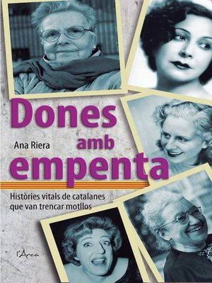 cover image of Dones amb empenta