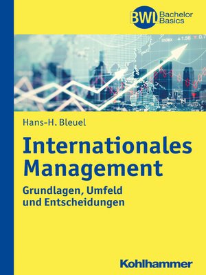 cover image of Internationales Management