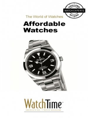 cover image of Affordable Watches