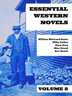 cover image of Essential Western Novels--Volume 8