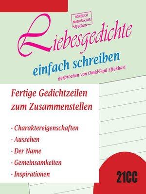 cover image of Liebesgedichte einfach schreiben