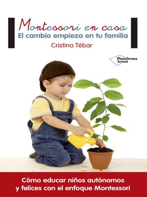 cover image of Montessori en casa