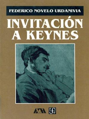 cover image of Invitación a Keynes