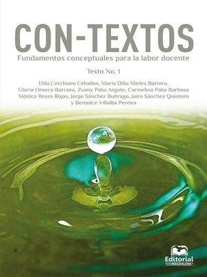 cover image of Con-Textos