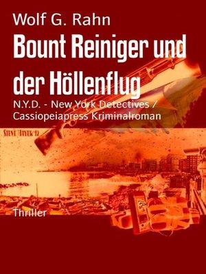 cover image of Bount Reiniger und der Höllenflug