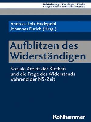 cover image of Aufblitzen des Widerständigen