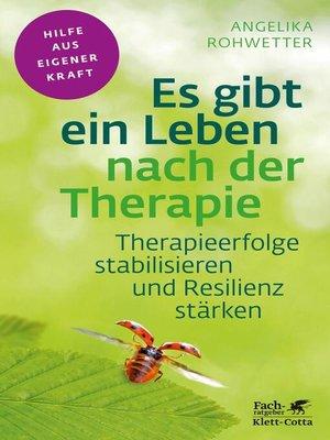 cover image of Es gibt ein Leben nach der Therapie