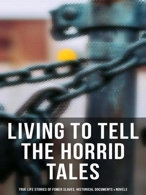 cover image of Living to Tell the Horrid Tales