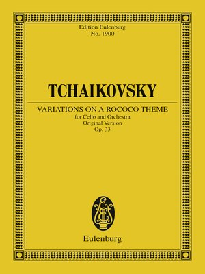 cover image of Variations on a Rococo Theme