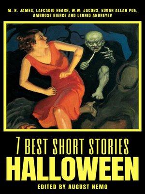 cover image of 7 best short stories--Halloween