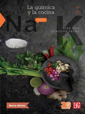 cover image of La química y la cocina