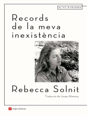 cover image of Records de la meva inexistència