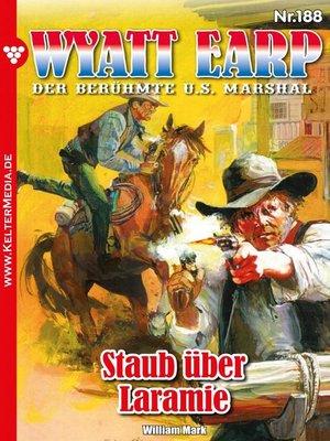 cover image of Wyatt Earp 188 – Western