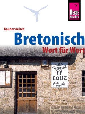 cover image of Bretonisch--Wort für Wort