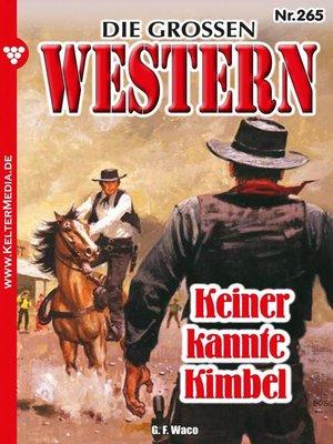 cover image of Die großen Western 265