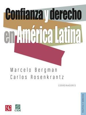 cover image of Confianza y derecho en América Latina