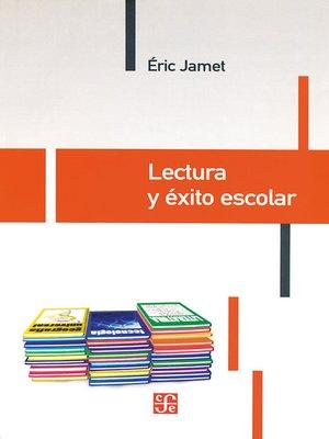 cover image of Lectura y éxito escolar