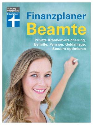 cover image of Finanzplaner Beamte