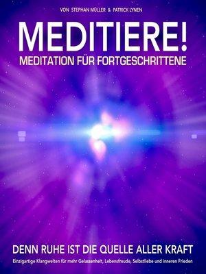 cover image of Meditation für Fortgeschrittene