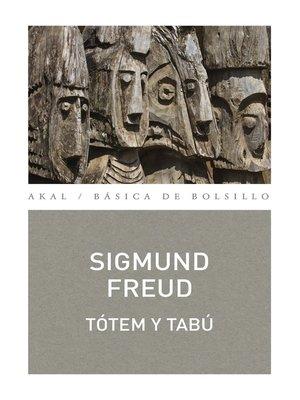 cover image of Tótem y tabú