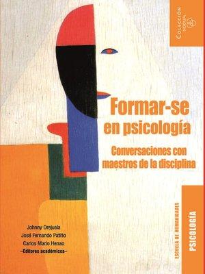cover image of Formar-se en Psicología
