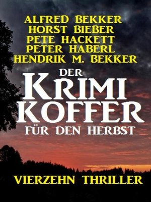 cover image of Der Krimi Koffer für den Herbst