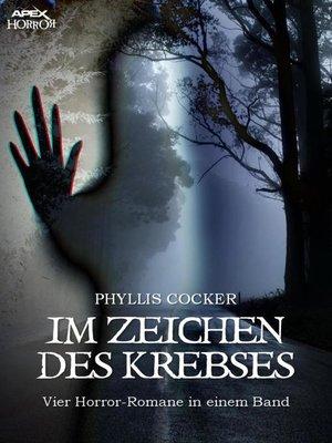 cover image of IM ZEICHEN DES KREBSES