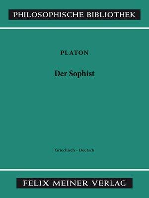 cover image of Der Sophist