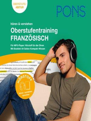 cover image of PONS Französisch Oberstufentraining