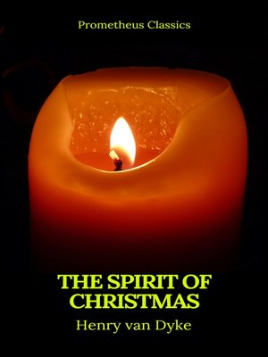cover image of The Spirit of Christmas (Prometheus Classics)