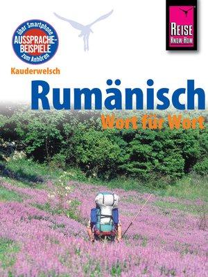cover image of Reise Know-How Kauderwelsch Rumänisch--Wort für Wort