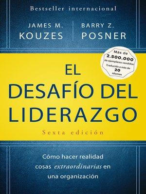cover image of El desafío del liderazgo
