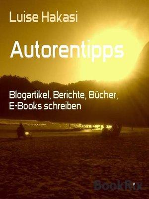 cover image of Autorentipps