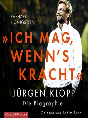 """cover image of """"Ich mag, wenn's kracht."""""""