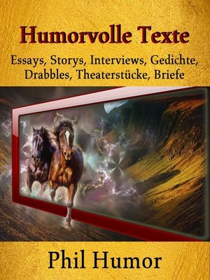 cover image of Humorvolle Texte