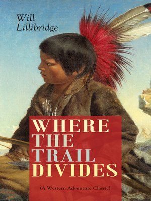 cover image of WHERE THE TRAIL DIVIDES (A Western Adventure Classic)