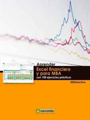 cover image of Aprender Excel financiero y para MBA