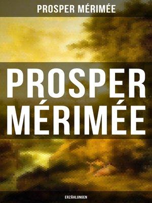 cover image of Prosper Mérimée
