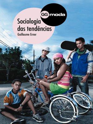 cover image of Sociologia das tendências